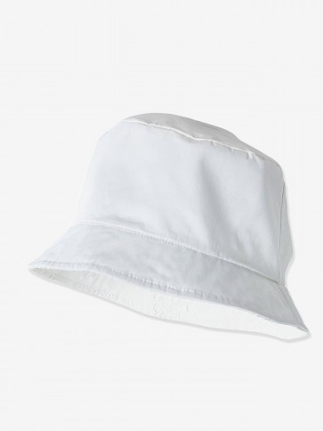 White Bucket Hat